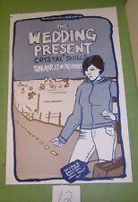 Wedding Present 2005 Poster for Seattle Concert with Crystal Skulls