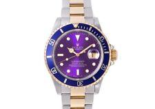 Rolex submariner date ref. 16613 acero/oro esfera azul/lünette n serie
