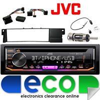 BMW 3 Series E46 JVC Bluetooth CD MP3 USB iPod Car Stereo Steering Interface Kit
