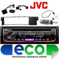 BMW 3 Series E46 JVC Bluetooth CD MP3 USB iPod Car Stereo Steering Interface Kit