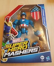 Avengers Super Hero Mashers CAPITAN AMERICA Action Figure