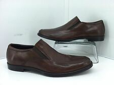 Gordon Rush Adrian Brown Leather Loafers. Size 8