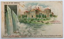 1906 NY Private Mailing Card Postcard Niagara Falls Shredded Wheat factory bldg