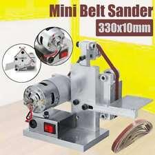 DIY Mini Belt Sander Desktop Grinder Polishing Grinding Sharpening Machine