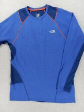 The North Face Cargo FLIGHT SERIES Crew Base Pullover (Mens Large) Blue