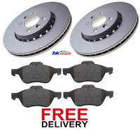 FOR RENAULT MEGANE MK2 1.5 DCi + 1.9 DCI FRONT 2 BRAKE DISCS & PADS *NEW*