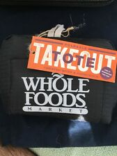 Whole Foods Genuine Foldable Tote Shopping Bag NEW