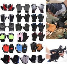Sports Racing Cycling Motorcycle MTB Bike Bicycle Gel Half Finger Spor Gloves