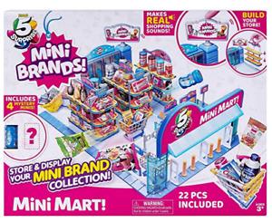 ZURU 5 Surprise Mini Brands Electronic Mini Mart Box Set Mentos Store Display
