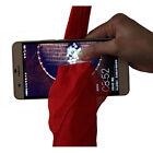 Magic Red Silk Thru Phone by Close-Up Street Magic Trick Show Prop Tool FT