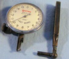 Starrrett Last Word 711 D10 Dial Test Indicator Set 0001 Inch Used