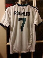 Real Madrid Club de Fútbol Cristiano Ronaldo Home Jersey #7 Sz 176 (16) Vikings