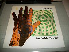 Genesis~Invisible Touch~1986 German IMPORT~Virgin 207-750~Inner~FAST SHIPPING!