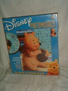 Disney Winnie the Pooh 1000 Piece Jigsaw Puzzle Photomosaics by Buffalo Games