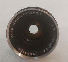 AUTO MAMIYA -SEKOR 1:2 50MM CAMERA LENS M42 M 42 Hipster lens Cool FB