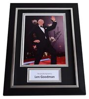Len Goodman Signed A4 FRAMED Autograph Photo Display Strictly Come Dancing COA