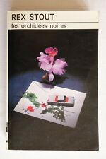 Les orchidées noires - Rex Stout - Club des Masques 1977 BE