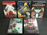 5 Manga Anime DVDs: Trigun; Tetsujin 28; Armitage; Texhn Lyze; Innocent Venus