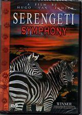 DVD | Serengeti Symphony | A Film by Hugo Van Lawick | Africa Animal Documentary | NEW!