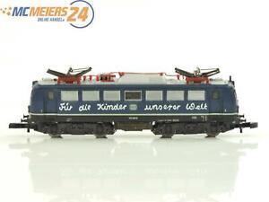 E237b Märklin Spur Z 8113 Elektrolok BR 110 226-8 DB Für die Kinder unserer Welt