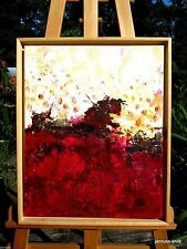Künstlerische Malerei des Zeitraums 1950-1999 auf Leinwand-Öl