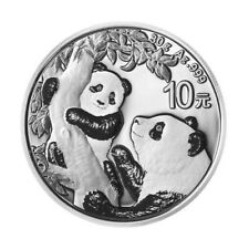 CHINE 10 Yuan Argent 30 grammes Panda 2021
