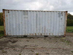 20 Fuß Container, Seecontainer, Lagercontainer, Garage, Lager, Box, Lagerbox 20`