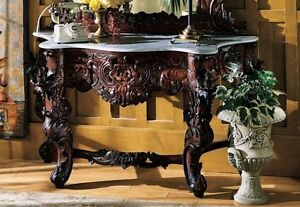 GR325 - Hapsburg Marble Topped Console Table - TABLE ONLY - New!