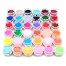 36 Type Pur Couleurs gel UV Art Pour Les Ongles Perfect Application