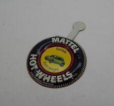 Redline Hotwheels Button Badge Metal Hong Kong Custom Volkswagen R17177