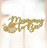 Personalised Baby Shower Cake Topper Decorations Mummy to bee Baby Shower P1077