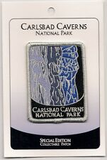 Carlsbad Caverns National Park Souvenir Patch Special Edition Traveler Series
