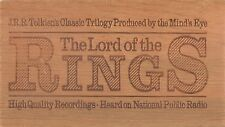 J.R.R. Tolkien - The Lord of the Rings (12 Cass A/book Wooden Boxset 2001)