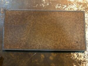 """2 pieces set 5/16"""" Steel Sheet Plate 12"""" x 24"""" Rusted Plates"""