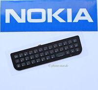 ORIGINAL NOKIA N97 mini QWERTZ TASTATUR TASTEN SCHWARZ KEYPAD KEYMAT BLACK NEU