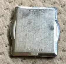 Vintage Bulova L5 Watch Case Original SS Back #A143282