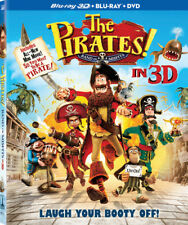 The Pirates!: Band of Misfits [New Blu-ray 3D] With Blu-Ray, With DVD, UV/HD D