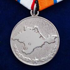 """Médaille """"Pour le retour de la Crimée"""" - Russe MÉDAILLE ORDRE décoration"""