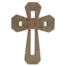 John 15:12 Cut-Out Cross Wood Gorgeous Wall Decor Showcase your faith