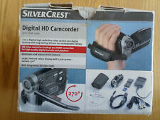 SILVERCREST DIGITAL HD 1080P CAMCORDER, VIDEO CAMERA, IN BOX WITH ACCESSORIES.