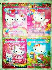 1pc/lot HELLO-KITY Cartoon Stickers Coloring Books-kid gift (no Coloring pen)