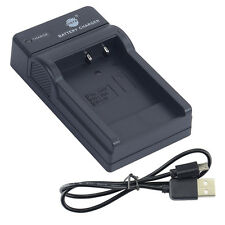 DSTE UDC77 USB Battery Charger For Sanyo DB-L40A DB-L20A Camera