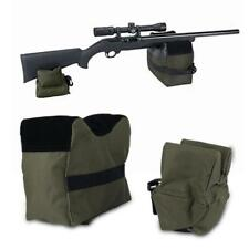 Compact Shooting Rest Sand Bag Target Gun Front Rear Range Stand Hunting Green
