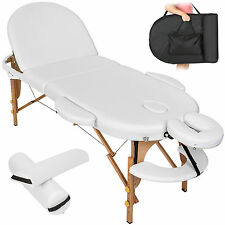 Massagetisch Massageliege Massagebank Therapieliege Reiki oval + Set3