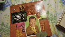 Johnny Wright Sings Country Favorites 1968  Vinyl LP