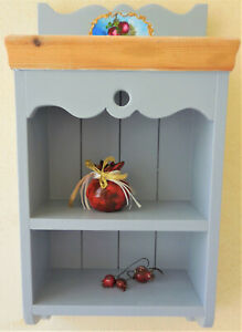 Wall Cabinet  hand painted 52x27x13 cm