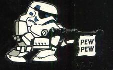 Star Wars Stormtrooper Pew Pew Disney Pin 102704