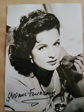 Hammer Horror Yvonne Furneaux Signed Photograph