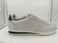Nike Classic Cortez Leather UK 6 Light Bone Black 861677-007