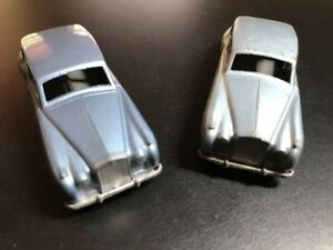 Matchbox Lesney 44A Rolls Royce Silver Cloud x 2 with mw and gpw